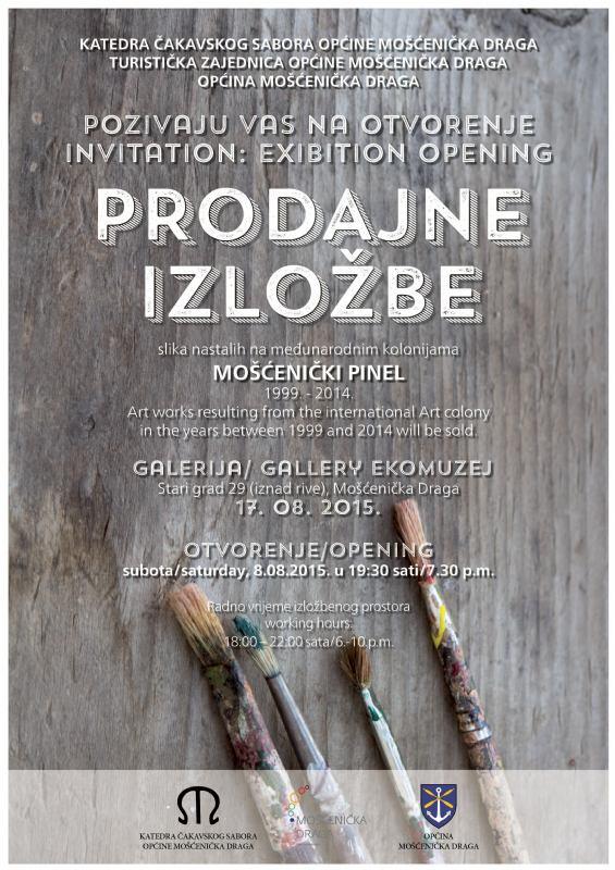 Otvorenje Prodajne izložbe
