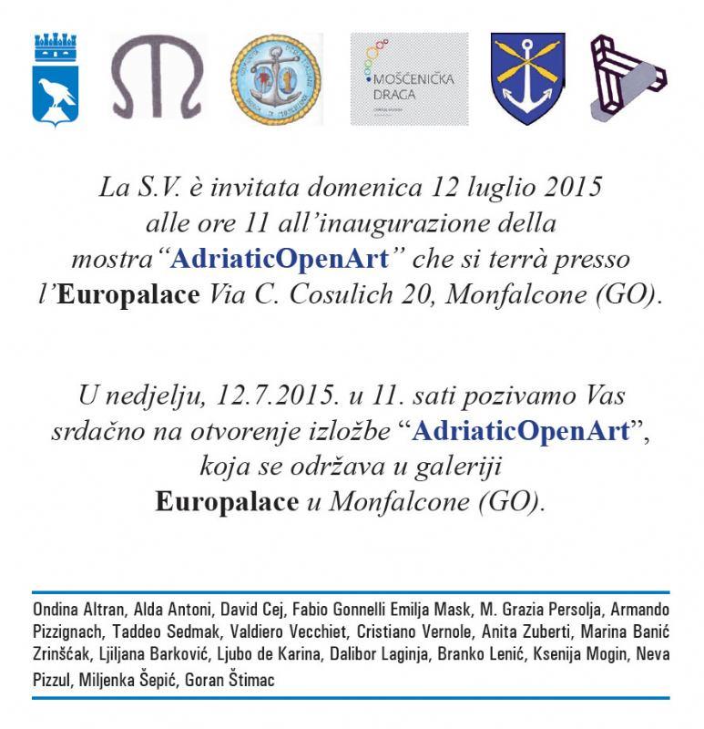 ČLANOVI KATEDRE - izložba Monfalcone