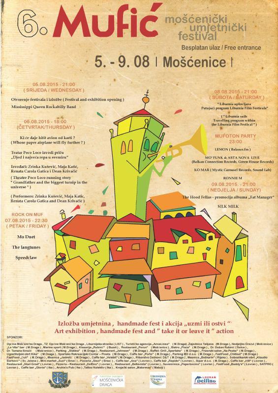 MUFIĆ -  Mošćenički umjetnički festival