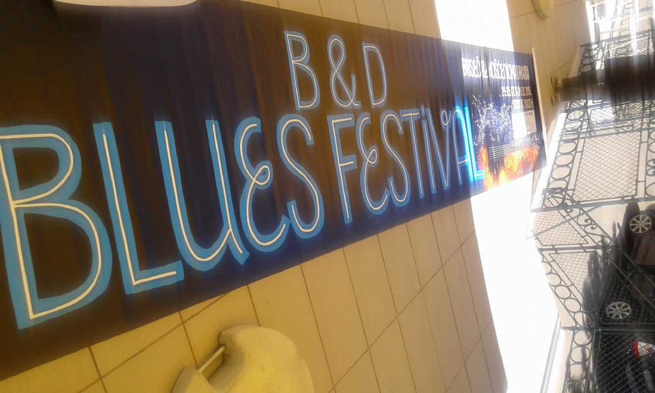 Program for B & D blues festival 2016