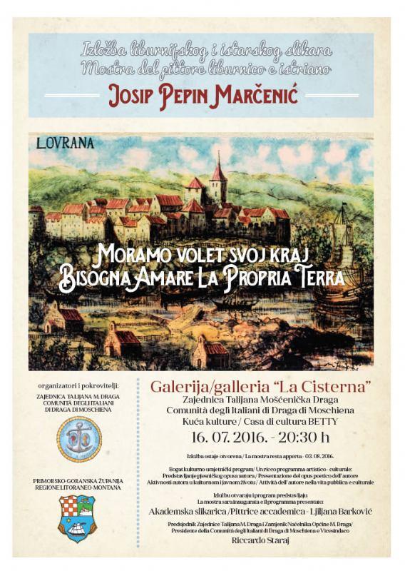 Izložba liburnijskog i istarskog slikara/ Mostra del pittore liburnico e istriano