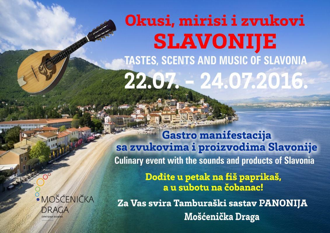 Okusi, mirisi i zvukovi Slavonije