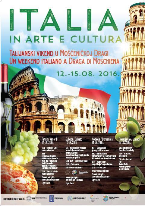 ITALIA IN ARTE E CULTURA