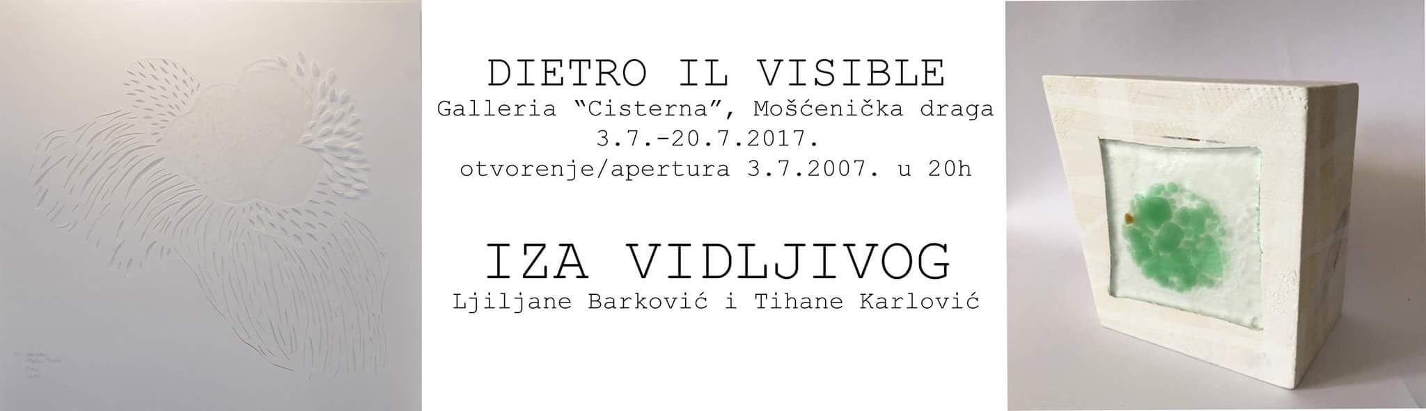 IZA VIDLJIVOG</BR>Ljiljane Barković i Tihane Karlović