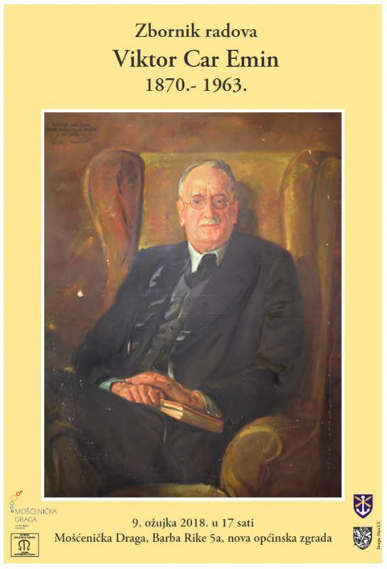 Predstavljanje zbornika  Viktor Car Emin 1870.-1963.