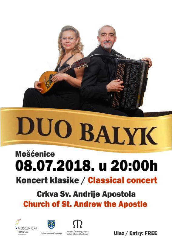Koncert klasike Duo Balyk