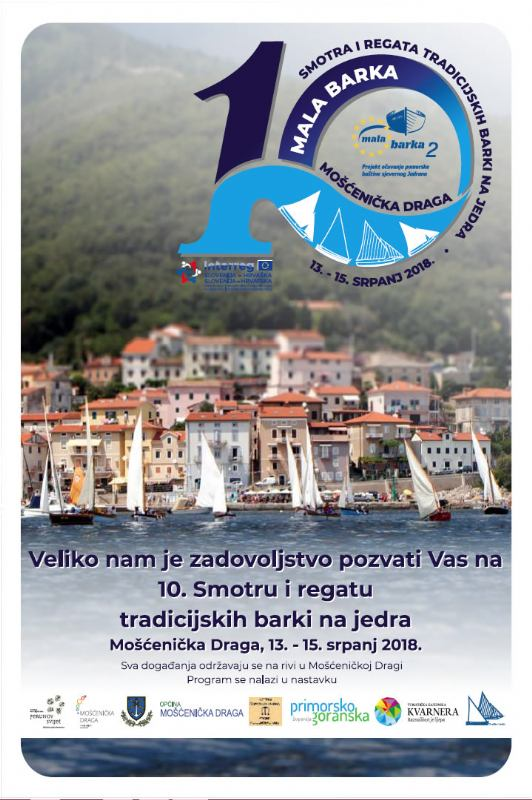 10th festival and regatta of tra ditional sailing boats MALA BARKA - Mošćenička Draga