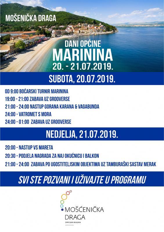 Dani općine MARININA