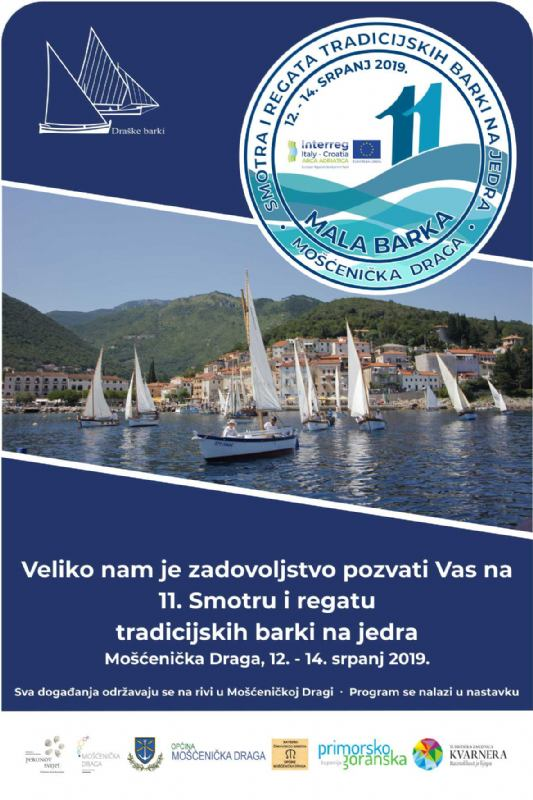 Smotra i regata tradicijskih barki na jedra
