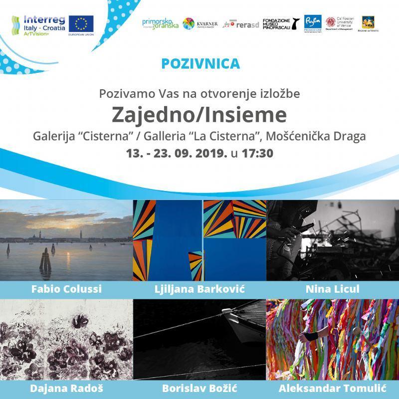 Zajedno / Insieme - otvorenje izložbe