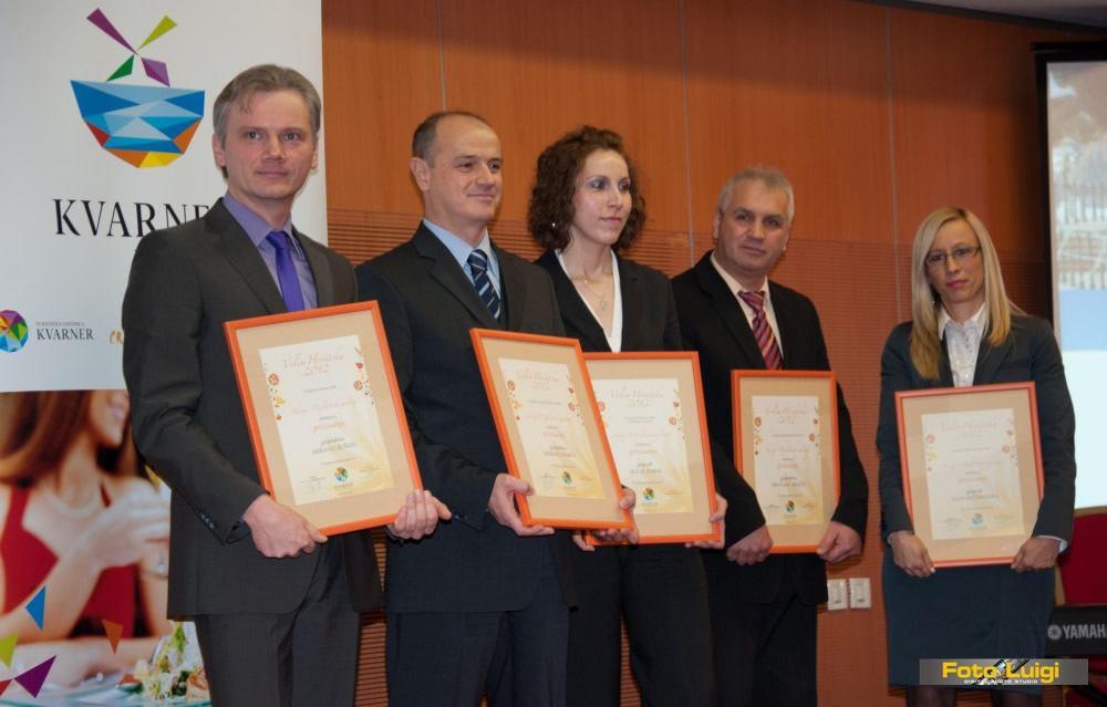 NAGRADE TURISTIČKE ZAJEDNICE  za 2012.godinu