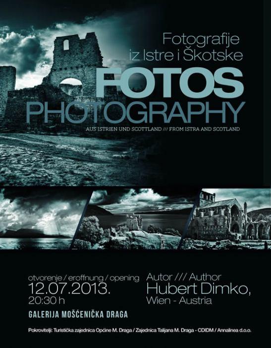 FOotografije iz Istre i Škotske