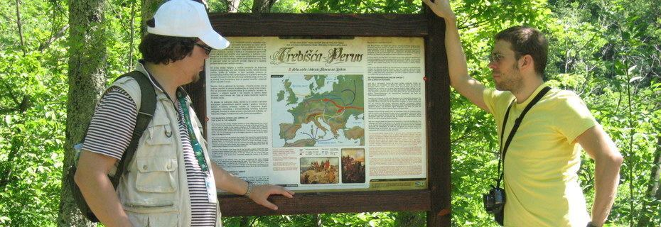 The Trebišća history and mythology trail