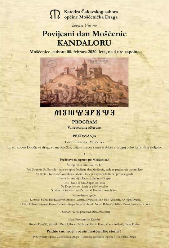 Povijesni dan Mošćenic - Kalandora
