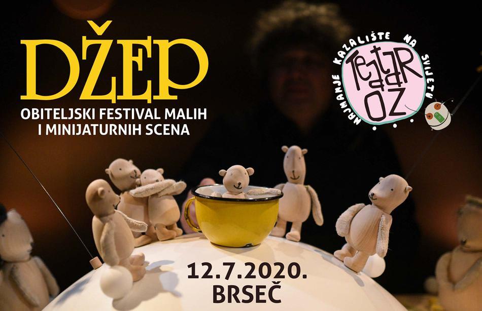 Jubilarni 5. Džep - obiteljski festival malih i minijaturnih scena u Brseču