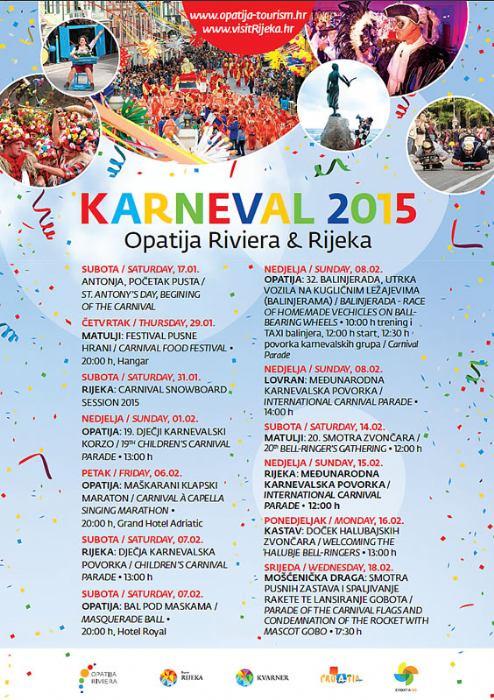 Karneval Opatija i Rijeka