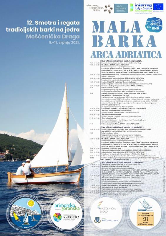 12 Smotra i regata tradicijskih barki na jedra