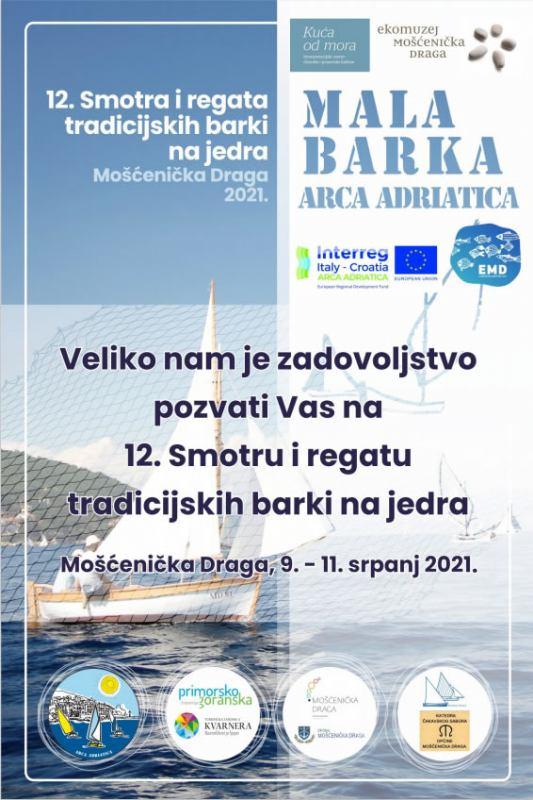 12. Smotra i regata tradicijskih barki na jedra