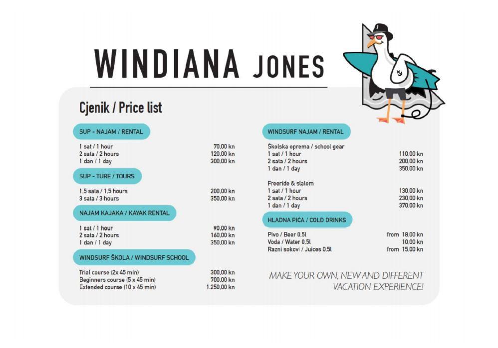 Centra za vodene sportove WINDIANA JONES