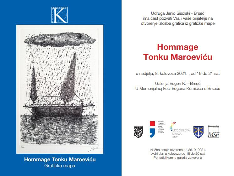 Hommage Tonku Maroeviću Grafička mapa