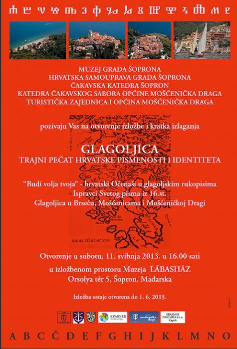 Otvorenje izložbe GLAGOLJICA